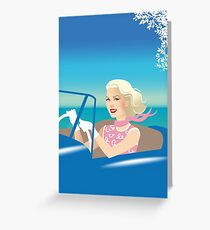 Driving Grace Greeting Card