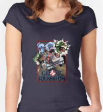 Real GhostBusters  Women's Fitted Scoop T-Shirt