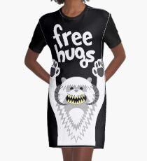 Monster Hugs Graphic T-Shirt Dress