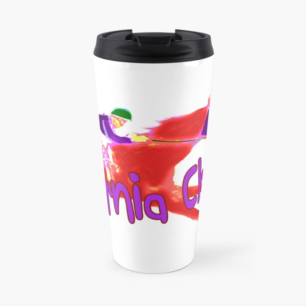 Fun California Chrome Design Travel Mug