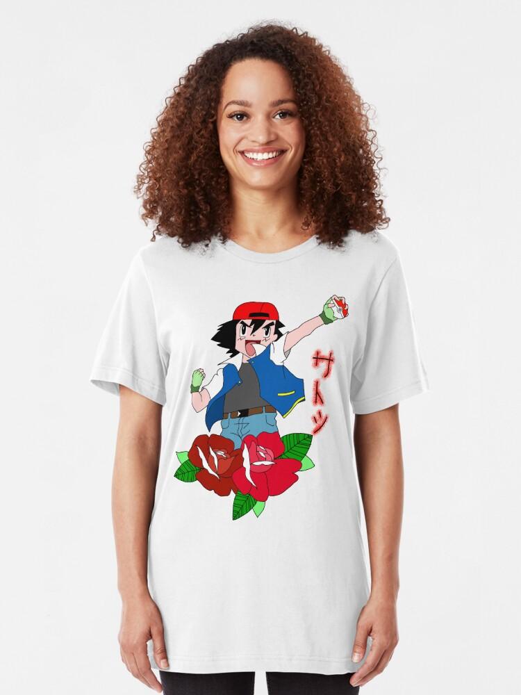 Alternative Ansicht von Asche Slim Fit T-Shirt