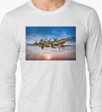 "Boeing B-17G Flying Fortress ""Yankee Lady"" Long Sleeve T-Shirt"