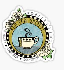 Mad Tea Shoppe Logo Sticker