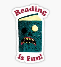 Reading is Fun Sticker