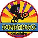 MOUNTAIN BIKE DURANGO COLORADO BIKING MOUNTAINS by MyHandmadeSigns