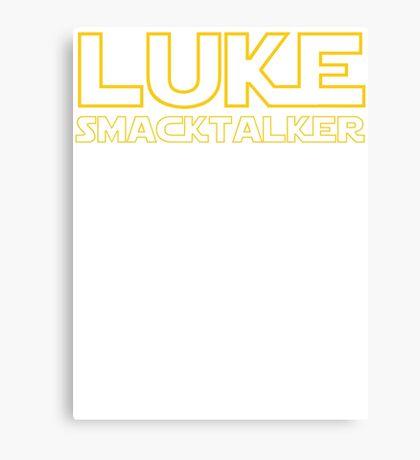 Luke Smacktalker Canvas Print