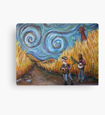 Country Music Canvas Print