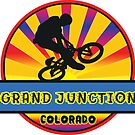 MOUNTAIN BIKE GRAND JUNCTION COLORADO BIKING MOUNTAINS by MyHandmadeSigns