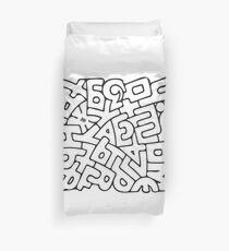 Alphabet Duvet Cover