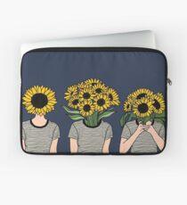 Sunflower Humans Laptop Sleeve