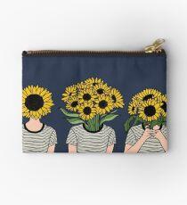 Sonnenblume Menschen Täschchen