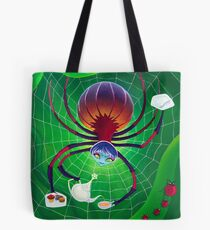 Spider Snack Tote Bag