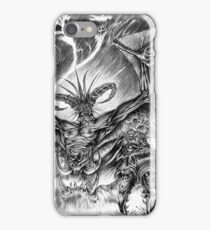 The demonic sorcerer iPhone Case/Skin