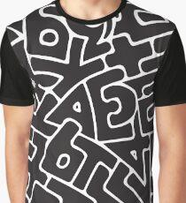 Alphabet Graphic T-Shirt