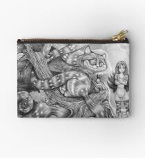 Alice and the Cheshire Cat Studio Pouch