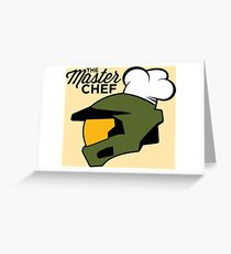 The Master Chef Greeting Card