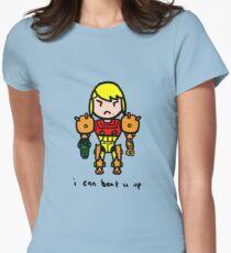 Tuff Grrl Women's Fitted T-Shirt