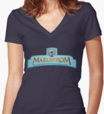 Maelstrom Women's Fitted V-Neck T-Shirt