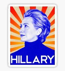 Pegatina Hillary
