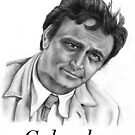 Peter Falk plays Columbo by Margaret Sanderson