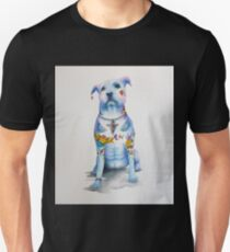 Pit Bull Tattoo Dog Unisex T-Shirt
