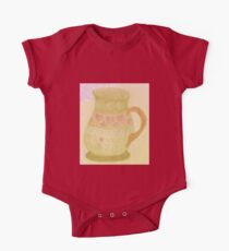 Universal Love Jug Fun Drawing Red Sand One Piece - Short Sleeve