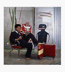 Jean-Michael Baquiat photograph  Photographic Print