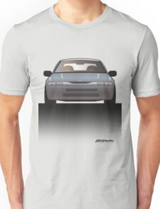 Modern Japanese Icons: Subaru Alcyone SVX (Split) Unisex T-Shirt