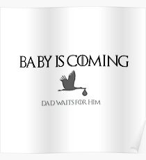 Baby is coming_dad Poster