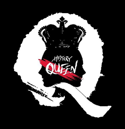 Quot History Queen Logo Quot Posters By Minpop Redbubble