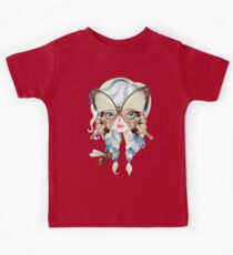 Niella Butterfly Girl Kids Tee