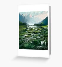 The Great Waterfall Greeting Card