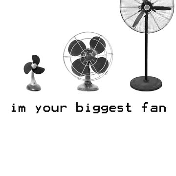 I'm Your Biggest Fan tshirt by sltPoison