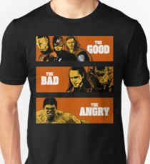 The Good, The Bad and The Angry T-Shirt