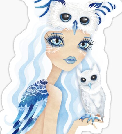 Owl Duchess Sticker