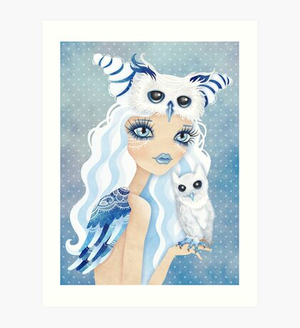 Owl Duchess Art Print