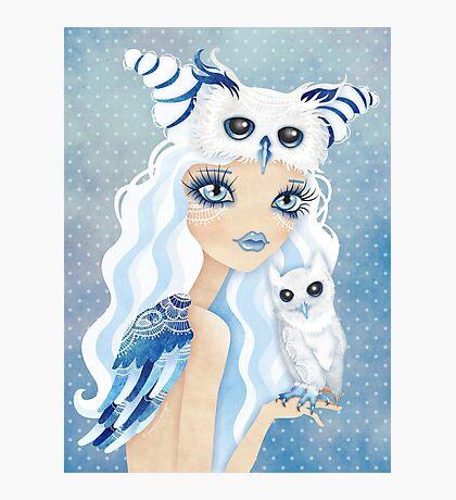 Owl Duchess Photographic Print