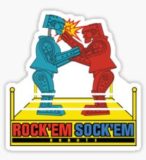 Rock'em Sock'em - 2D Original Punch Variant Sticker