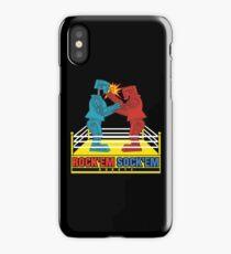 Rock'em Sock'em - 2D Original Punch Variant iPhone Case/Skin