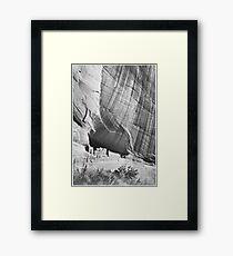 Ansel Adams - Pueblo Indians Framed Print