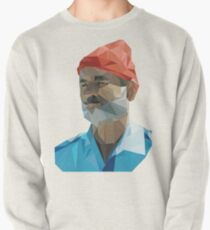 The Life Aquatic with Steve Zissou geometric low poly portrait - Bill Murray Pullover