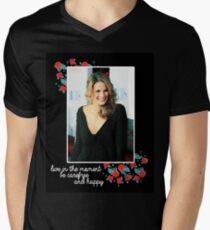 Stana Katic Men's V-Neck T-Shirt