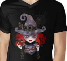 Maelba, the Red Witch Mens V-Neck T-Shirt
