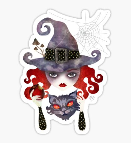 Maelba, the Red Witch Sticker