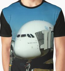 Emirates Airbus A380 Graphic T-Shirt