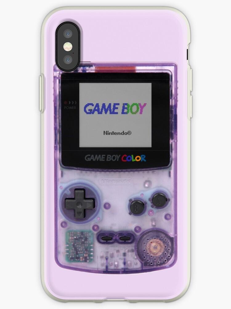 Gameboy Color Translucent Purple by dannnh