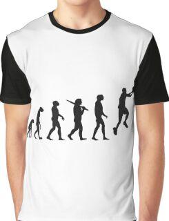 basketball evolution Graphic T-Shirt