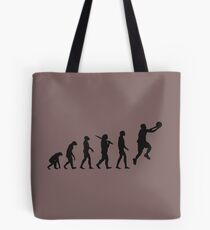 basketball evolution Tote Bag
