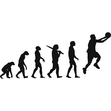 basketball evolution by MonkeyDAla