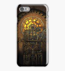 Inner Workings (Vintage Steampunk Clock) iPhone Case/Skin